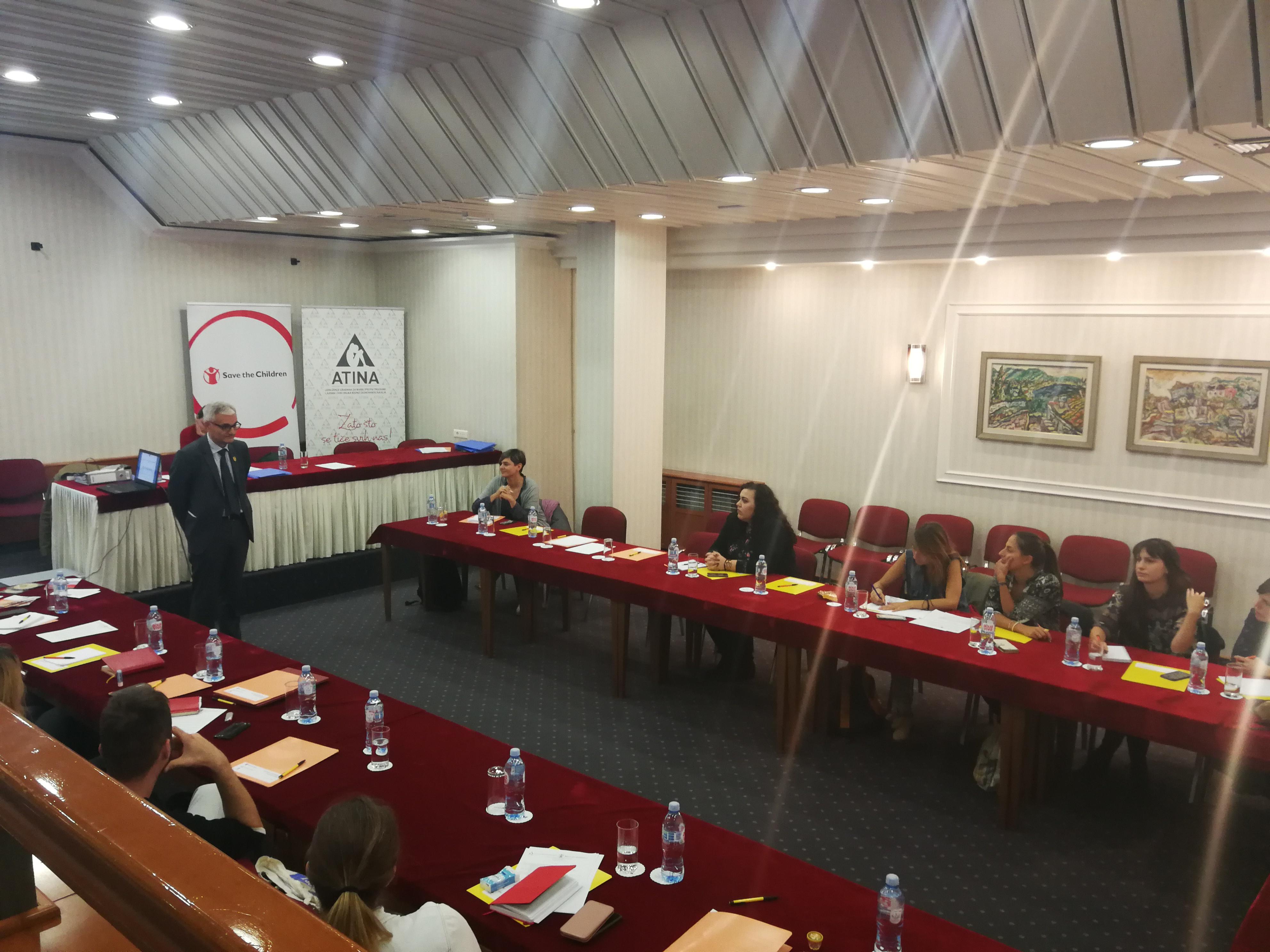 NVO Atina Prakticari u borbi protiv trgovine ljudima